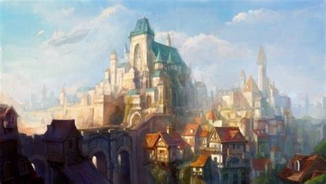 Holy City By Phoenixfeng On Deviantart Settings