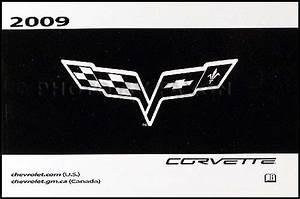 2009 Chevrolet Corvette Repair Shop Manual Original 4