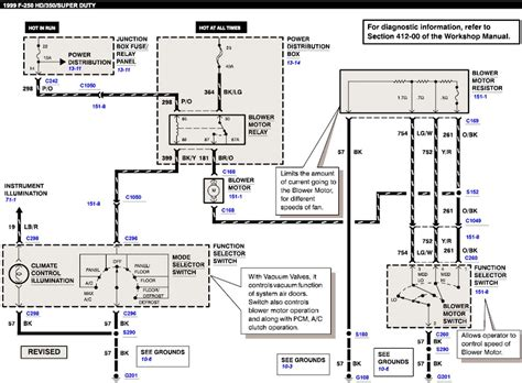 99 Ford F 350 Wiring Diagram by Blower Fan Intermittent Ford Truck Enthusiasts Forums