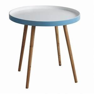 Table Ronde De Salon : petite table de salon style vintage prix discount ~ Teatrodelosmanantiales.com Idées de Décoration