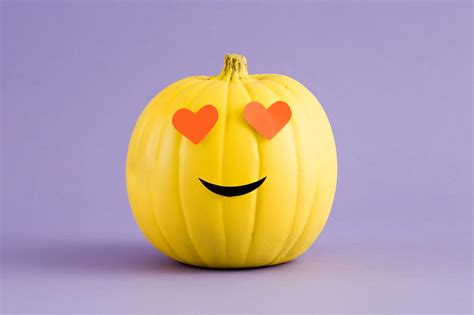 diy emoji pumpkins    printables brit