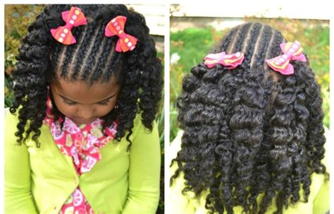 Pictures African American Little Girl Braid Hairstyles