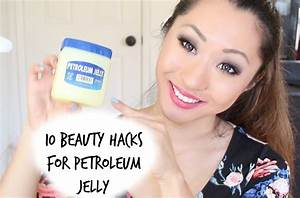 10 BEAUTY SKINCARE HACKS FOR PETROLEUM JELLY - YouTube
