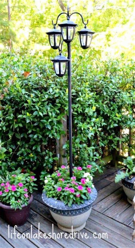 led solar light l post landscaping gardening ideas