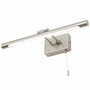 Ip44 Rated Bathroom Picture Light With Pull Cord
