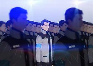 PS4 Detroit Become Human RK900 By