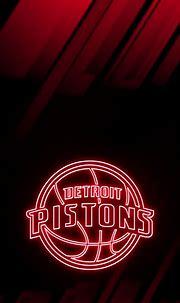 NBA Basketball Team Detroit Pistons' phone wallpaper ...
