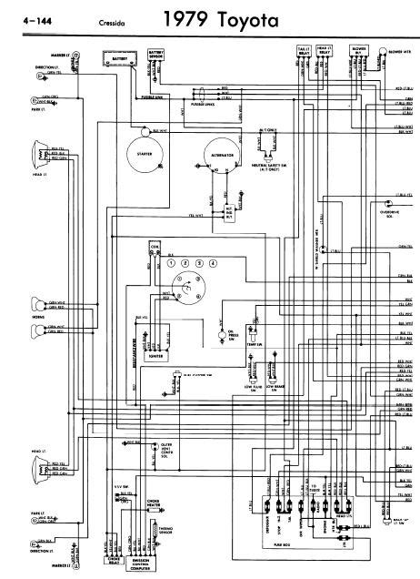 1981 Toyotum Wiring Diagram by Toyota Cressida 1979 Wiring Diagrams Guide Information Blogs