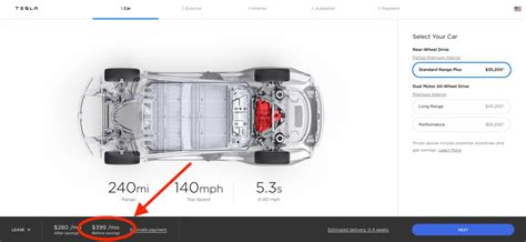 Download Tesla 3 Lease Pricing Pics