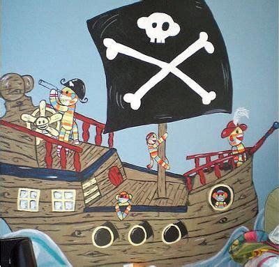 Kinderzimmer Wandgestaltung Pirat by Baby Boy S Pirate Sock Monkey Nursery Mural Thanks To