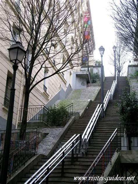 les escaliers de la butte paris autrement