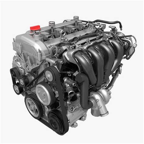 Car 4 Cylinder Engine 01 3d Cgtrader