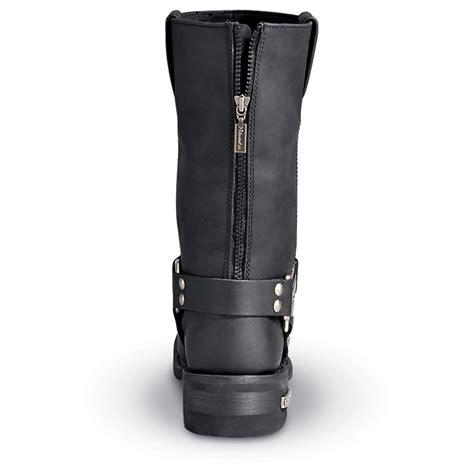 classic biker boots men 39 s milwaukee classic zip harness motorcycle boots