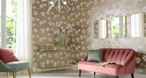 Wohnzimmer Neu Tapezieren by Living Room Wallpaper Feature Wall Wallpaper Graham