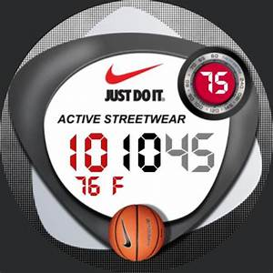 Nike Streetball  U2013 Watchfaces For Smart Watches