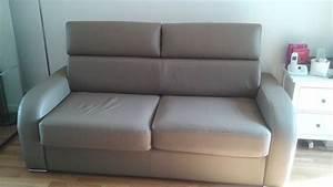 canapes cuir convertible occasion annonces achat et With vente canapé cuir