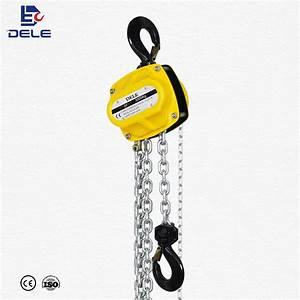 China 2 Ton Hand Chain Pulley Block  Manual Chain Hoist