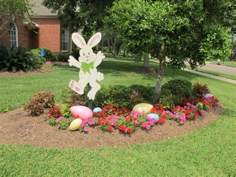 in outdoor decorations outdoor easter decorations 30 ideas for a special