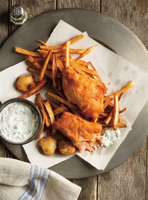truite cuisine fish and chips de truite ricardo
