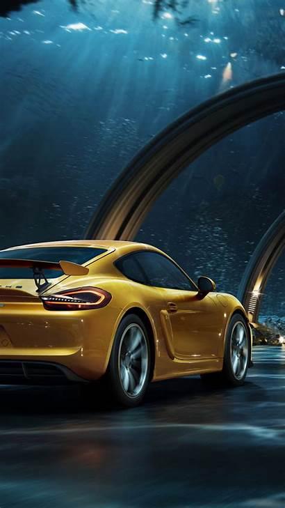 Yellow Porsche Digital Cars Lenovo Sports Downaload