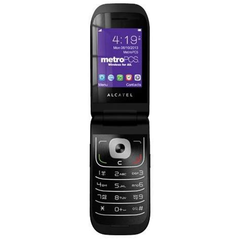 alcatel 768 flip phone metro pcs