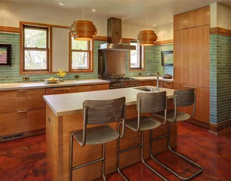 exemple de cuisine cuisine modele cuisine moderne avec vert couleur modele