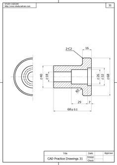 sample cad dwg drawings intended   double