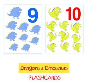 Printable Number Flash Cards 1 10