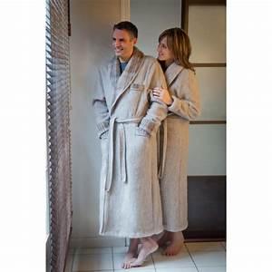 homme robe de chambre peignoir homme robe de chambre unie With robe de chambre laine des pyrénées