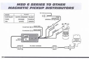 Connecting Msd 6al To One-wire  U0026 39 87 930 Distributor