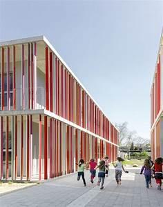 Architekten In Karlsruhe : primary school in karlsruhe wulf architekten red pinterest escuela arquitectura escolar ~ Indierocktalk.com Haus und Dekorationen