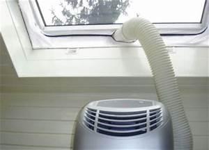 Climatiseur Mobile Sans évacuation Extérieure : chauffage climatisation installer clim mobile fenetre ~ Dailycaller-alerts.com Idées de Décoration