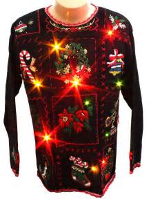 top 28 cheap sweaters with lights 80s retro