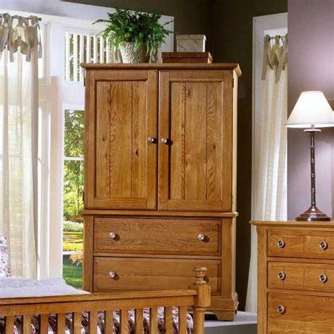 Oak Bedroom Armoire by Cottage Oak Entertainment Armoire Bb21 117 Armoires