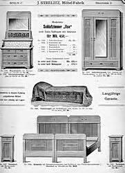 ZeitenSprung: Möbelkatalog aus Berlin, um 1909