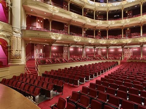 The interior of the academy of music theatre is a spectacle in itself; Academy of Music Seating Improvements | Voith and Mactavish Architects