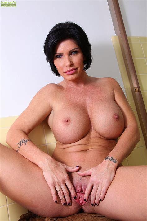 Brunette Milf Shay Fox Wet And Smoking Hot Busty Vixen
