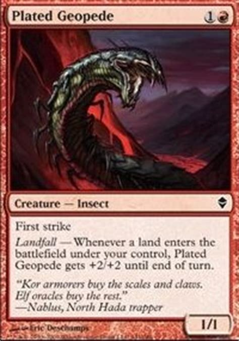 Mtg Insect Deck Tappedout by R G Landfall Pauper Pauper Mtg Deck