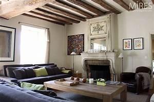 Deco Maison Avec Poutre : d co salon poutre apparente ~ Zukunftsfamilie.com Idées de Décoration