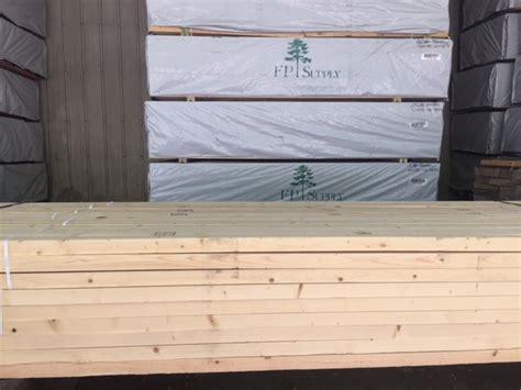 2x2x8 Treated Lumber