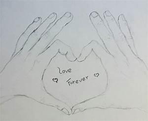9+ Cute Love Drawings - JPG Download