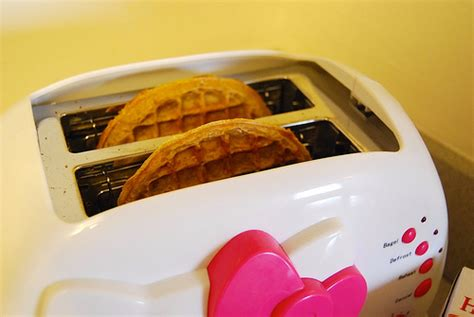 Waffles In The Toaster - use a toaster avoid grills when toasting energy saving