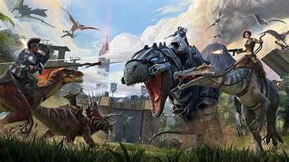 Ark Survival Evolved Wallpapers 4k Games Backgrounds