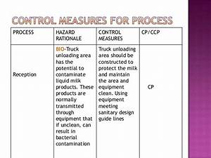 Haccp Milk Industry Pasteurization