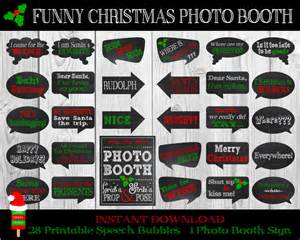 Funny Christmas Photo Booth Props