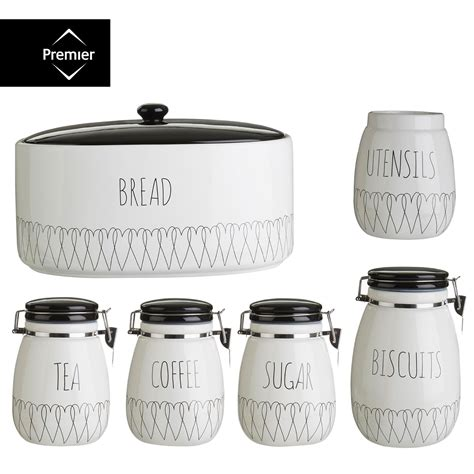 kitchen tea coffee sugar canisters modern ceramic coffee mugs monogram luxury gifts by