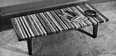wood mid century modern furniture woodworking plans