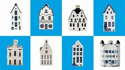 Houses Gin Klm Ceramic Collectors Became Loving
