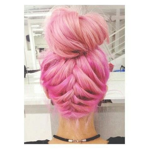 Party Red Pink Hair Chalk Set Of 6 Updo Braided Buns