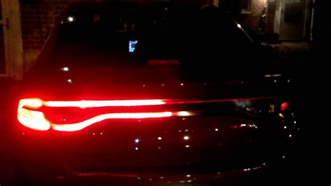 dodge dart custom tail lights youtube